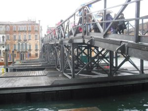 Bridge for Festa della Madonna della Salute