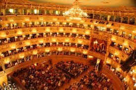 Interior Fenice Opera Venice