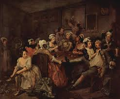 William Hogarth - Scene in a Tavern