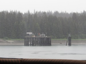 The refueling dock at Bartlett Cove National Park Headquarters in Glacier Bay