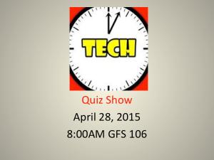 TechTimeQuizShow
