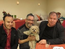 Luis Flores, Jr., Michael Angel, Benson, David Galligan