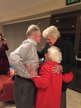 What a scrum of theatrical talent! 272 years worth: James Greene, Charlotte Rae, Hal Holbrook
